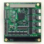 Janus-MM-4LP Quad CAN PC/104-Plus Module
