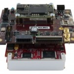 PCIe/104 OneBank w. FMC I/O attached
